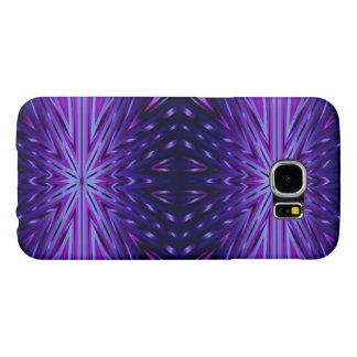 Blue Starburst Samsung Galaxy S6 Cases