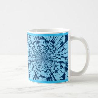Blue Starburst Coffee Mug