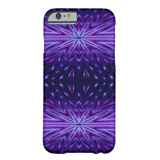 Blue Starburst iPhone 6 Case
