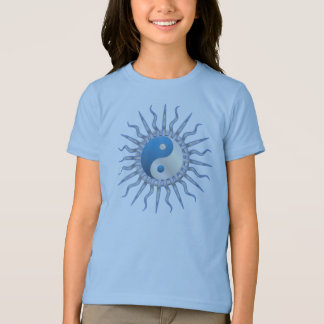 Blue Starburst Yin Yang T-shirt