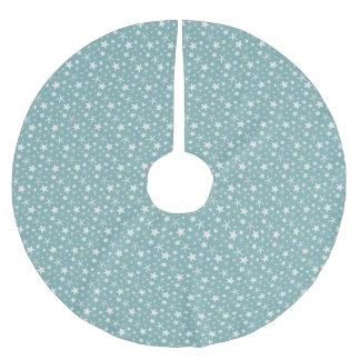 Blue Starfish Brushed Polyester Tree Skirt
