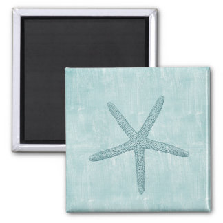 Blue Starfish Magnet