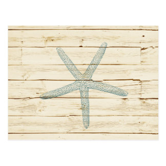 Blue Starfish Postcard