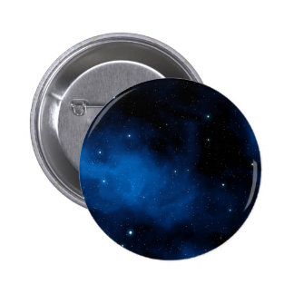 Blue Starry Sky 6 Cm Round Badge