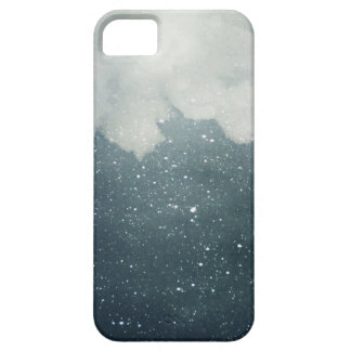 Blue Starry Sky With White Cloud iPhone 5 Case