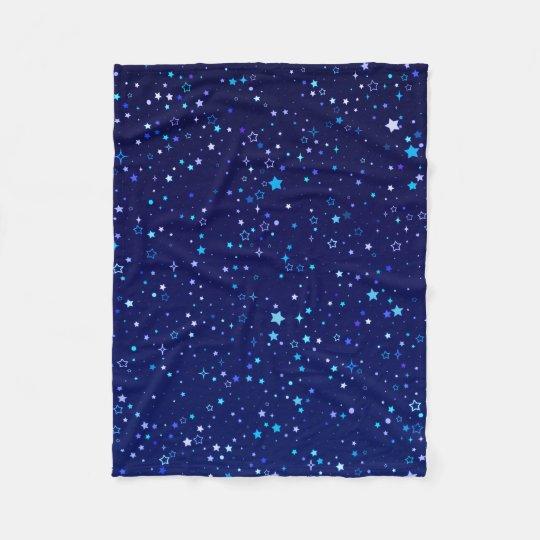 Blue Stars 2 Fleece Blanket