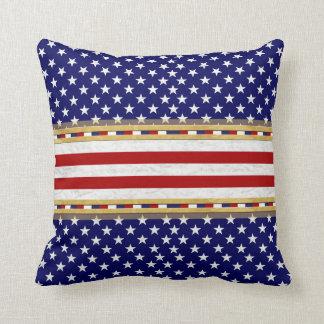 Blue Stars America's Decor-Soft Pillows