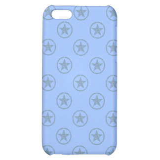 Blue Stars Canvas iPhone 5C Cover