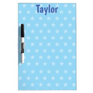 Blue Stars Delight Dry Erase Board