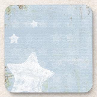 Blue Stars Hot Drink Coasters Cold Drink Set Beverage Coaster