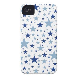 Blue Stars iPhone 4 Case-Mate