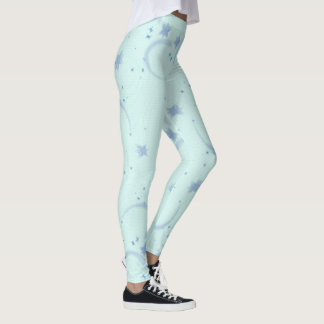 Blue stars leggings