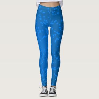 Blue Stars Leggings