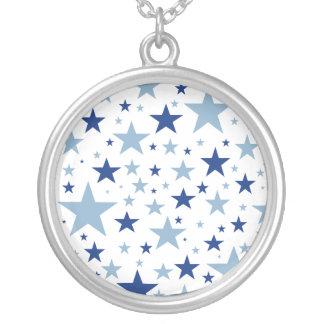 Blue Stars necklace