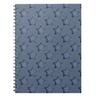 Blue stars notebooks
