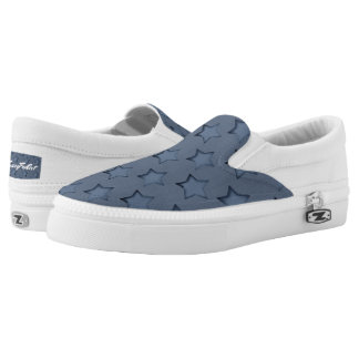 Blue stars Slip-On shoes