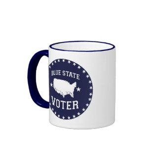 BLUE STATE VOTER - RINGER MUG