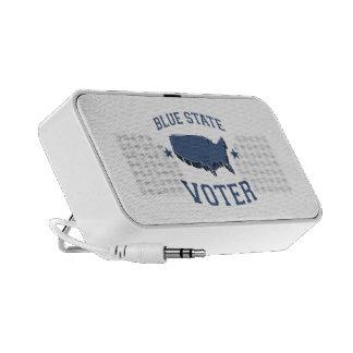 BLUE STATE VOTER MP3 SPEAKER
