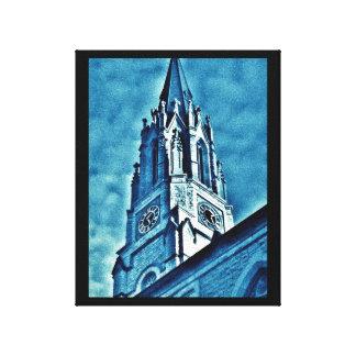 Blue Steeple Canvas Print