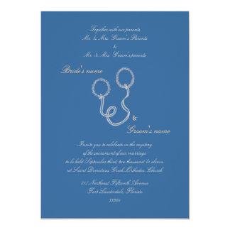 Blue Stefana Invitation
