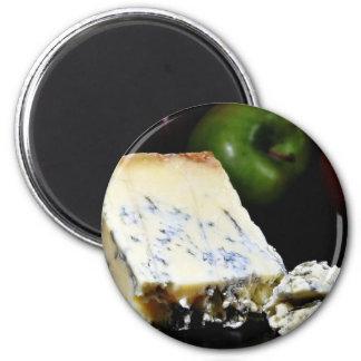 Blue Stilton Cheese Magnets