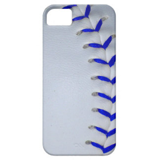 Blue Stitches Baseball / Softball Case For The iPhone 5