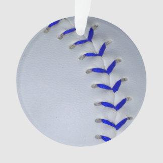 Blue Stitches Baseball / Softball Ornament