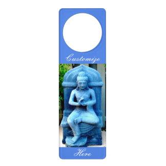 blue stone buddha door hanger