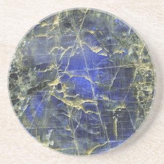 Blue Stone Drink Coasters