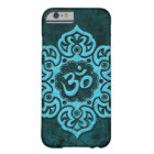 Blue Stone Floral Om Barely There iPhone 6 Case