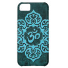 Blue Stone Floral Om iPhone 5C Case