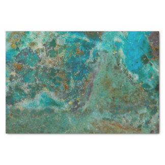Blue Stone Image Tissue Paper