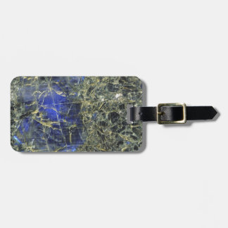 Blue Stone Luggage Tag