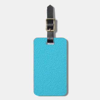 Blue Stone pattern Luggage Tag