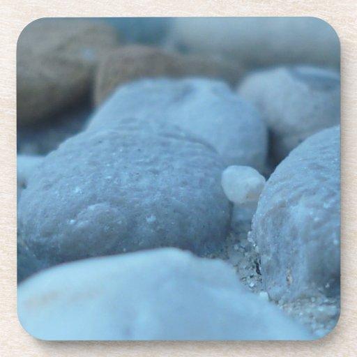 Blue Stones Drink Coasters