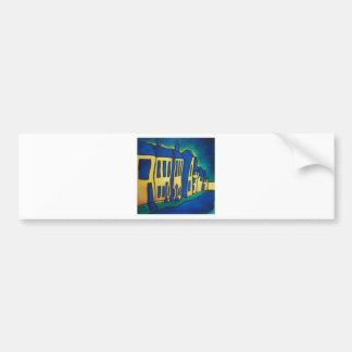 Blue Street Bumper Sticker