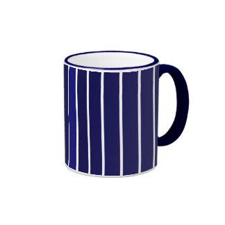 Blue Stripe Ringer Mug