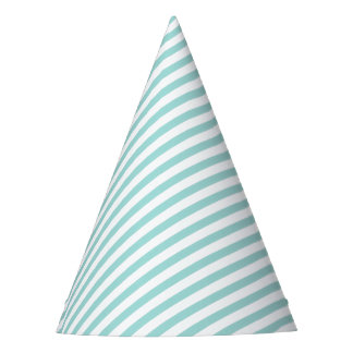 Blue Striped Party Hat