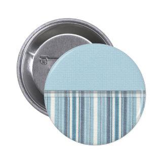 Blue Stripes 2 Pin