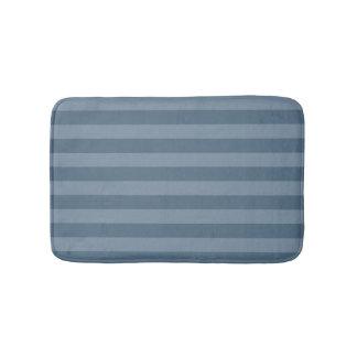 Blue Stripes Bath Mat