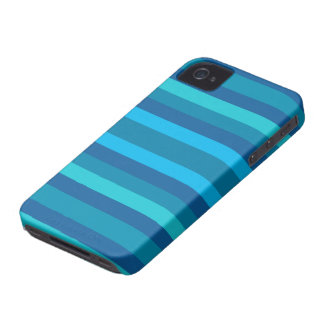 Blue Stripes custom Blackberry case