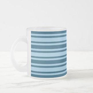 Blue Stripes custom mug - choose style