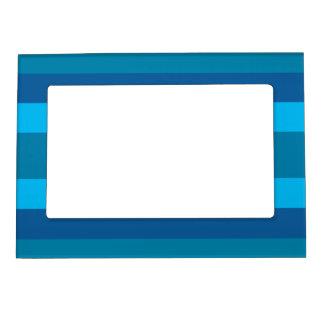 Blue Stripes custom picture frame