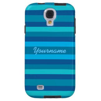 Blue Stripes custom Samsung case
