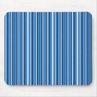 Blue Stripes Mouse Mat