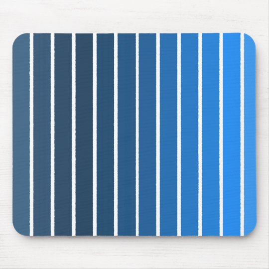blue stripes mouse mat
