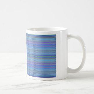 Blue Stripes Coffee Mugs