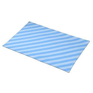 Blue Stripes. Placemat