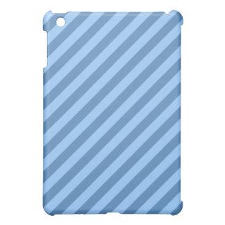 Blue Stripy Pern. iPad Mini Cover