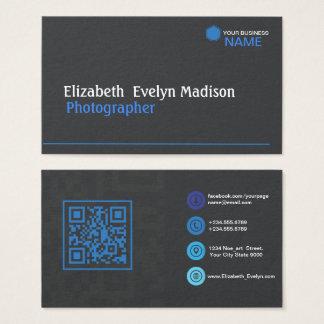 Blue Stylish 0001 Business Card
